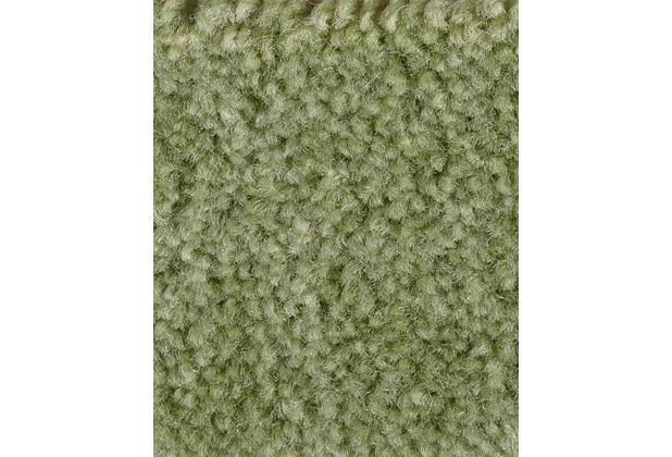 ilima Teppichboden Velours Dinora hellgrün meliert 400 cm