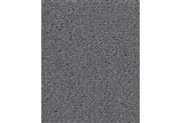 ilima Teppichboden Velours ANDIAMO/CATS uni dunkelgrau 400 cm breit