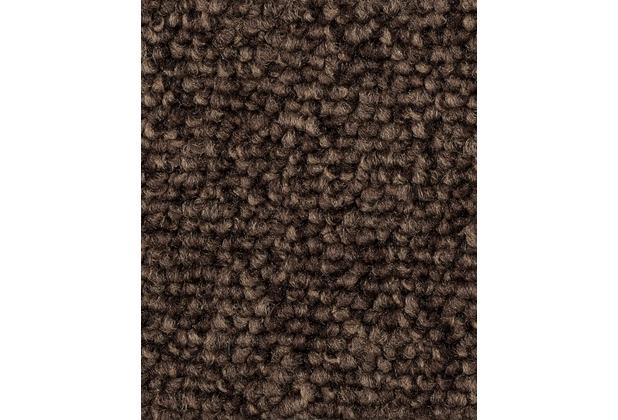 ilima Teppichboden Schlinge ROPERO TR meliert dunkelbraun 400 cm breit