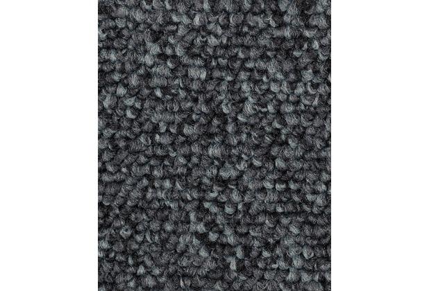 ilima Teppichboden Schlinge ROPERO TR meliert dunkelgrau 400 cm breit
