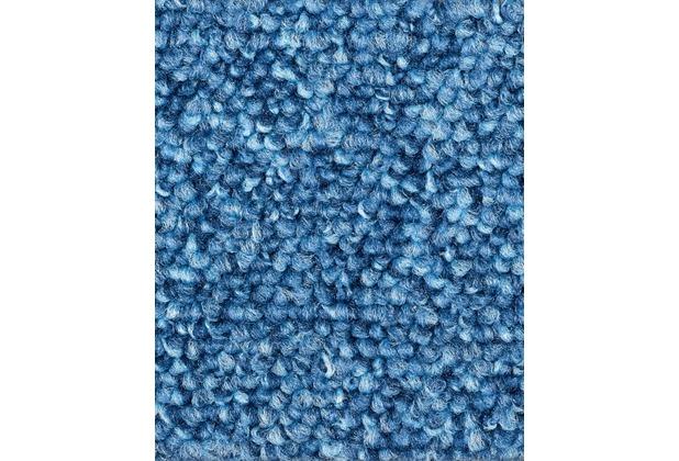 ilima Teppichboden Schlinge Baltic meliert hellblau 400 cm
