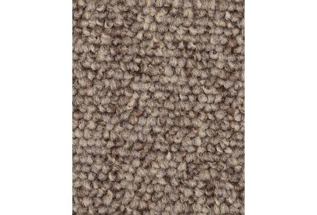 ilima Teppichboden Schlinge ROPERO TR meliert hellbraun 400 cm breit