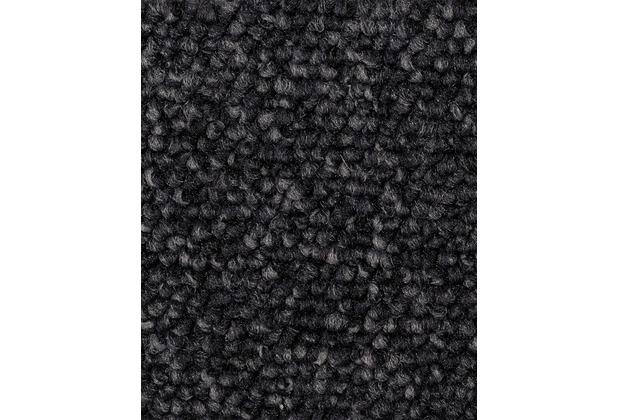 ilima Teppichboden Schlinge ROPERO TR meliert schwarz 400 cm breit