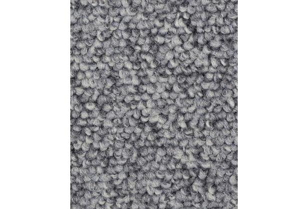 ilima Teppichboden Schlinge ROPERO TR meliert silber/grau 400 cm breit