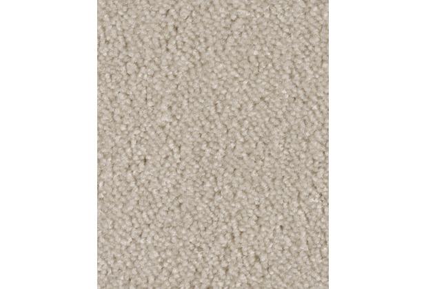 ilima Teppichboden Velours AMBER meliert beige/sand 400 cm breit
