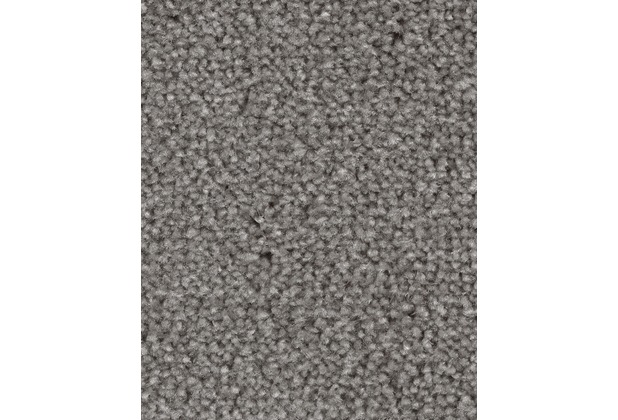 ilima Teppichboden Velours Ancona meliert grau 400 cm