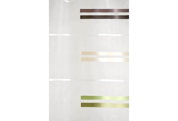 Homing Flächenvorhang Allegro, braun-kiwi 60 x 245 cm (inklusive Technik)