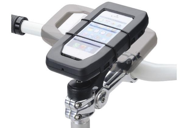 HR Auto-Comfort iGrip Biker Stem Splashbox Kit wasserdichte Fahrradhalterung  Universal (71 - 138mm)