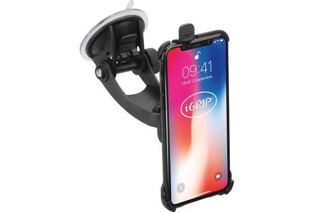HR Auto-Comfort iGrip Traveler Kit Auto-Halterung mit Saugnapf  Apple iPhone X, iPhone XS