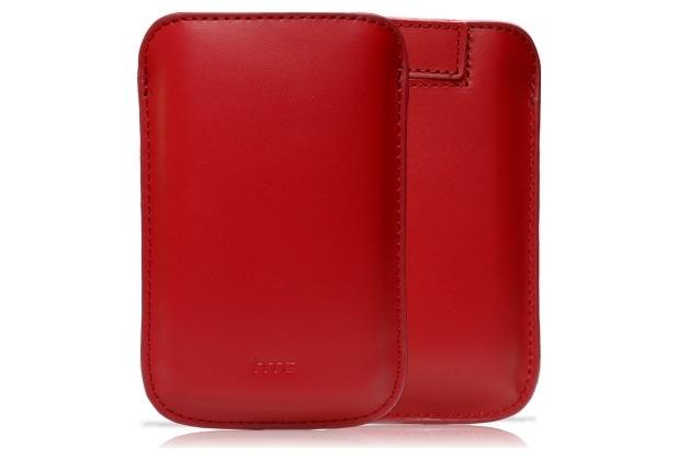 HTC Tasche PO S530, rot für HD mini/Wildfire/Smart