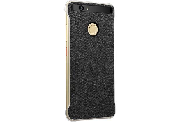 Huawei Leder Cover für Nova, Grau