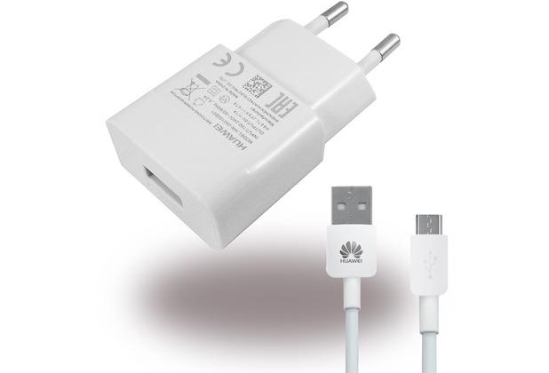 Huawei Netzteil + Ladekabel, Weiss
