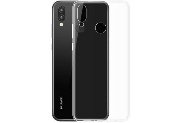 Huawei Silikon Protectiv Case, Huawei P Smart (2019), Transparent