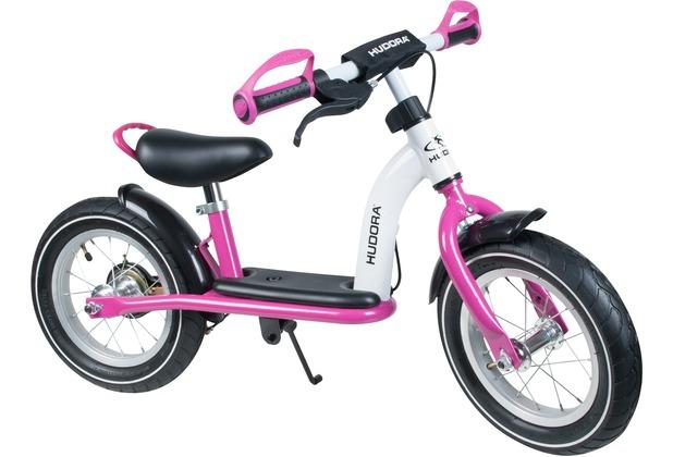 "HUDORA Laufrad Cruiser Girl Alu, 12\"", weiß/pink"