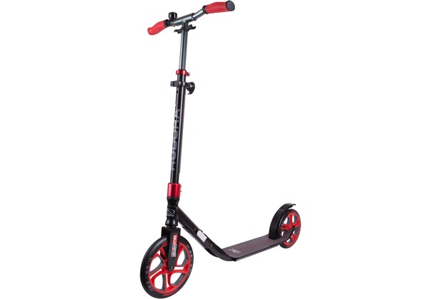 HUDORA Scooter CLVR 250, schwarz/rot