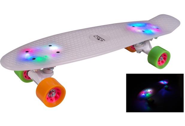 HUDORA Skateboard Rainglow LED
