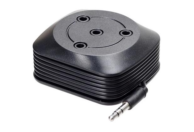 iGrip Sound-Splitter, schwarz