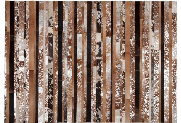 Kelii Luna Trend Stripe-16 natural/braun 140x70cm