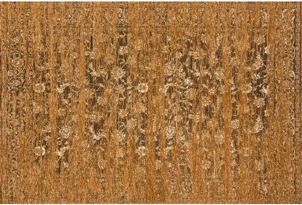 Kelii Vintage-Teppich Fantasia mustard 80 cm x 150 cm