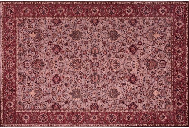 Kelii Vintage-Teppich Ziegler burgund 80 cm x 150 cm
