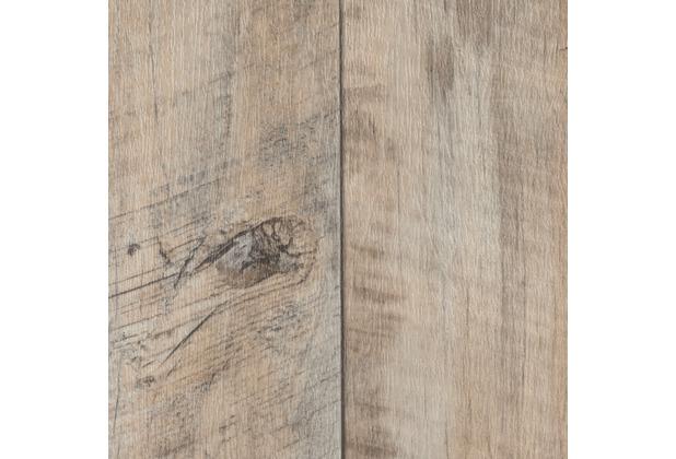 ilima Vinylboden PVC Föhr Holzoptik Diele Eiche creme weiß 200 cm