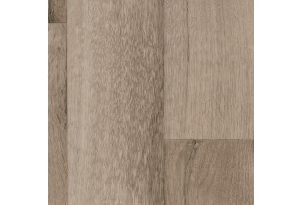 ilima Vinylboden PVC Holzoptik MADISON Diele Eiche creme weiß grau 200 cm breit