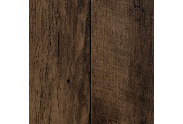 ilima Vinylboden PVC Lugano Holzoptik Diele Eiche dunkel-braun 200 cm