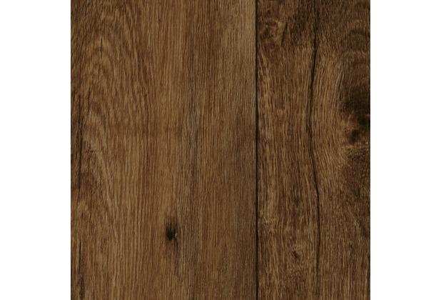 ilima Vinylboden PVC Holzoptik Diele Eiche dunkelbraun rustikal 300 cm breit
