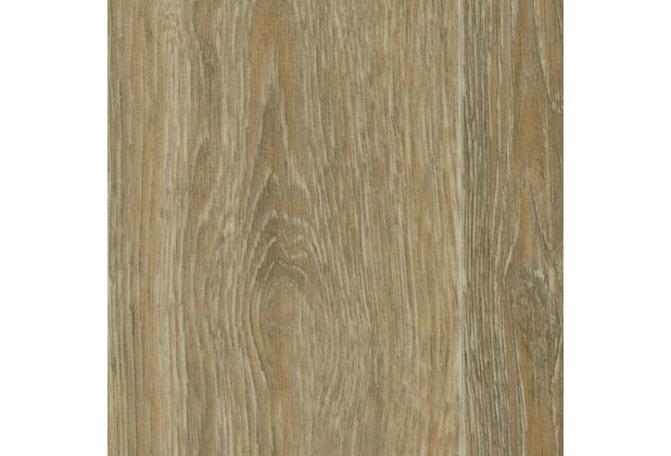 ilima Vinylboden PVC Holzoptik Diele Eiche hell-grau gekalkt 400 cm breit