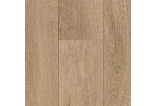 ilima Vinylboden PVC Holzoptik Schiffsboden Eiche creme hell 200 cm breit