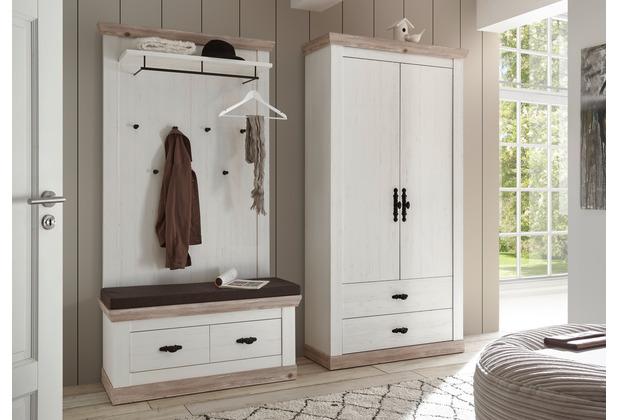 IMV Garderobe Florenz XII, weiß Garderobenkombination