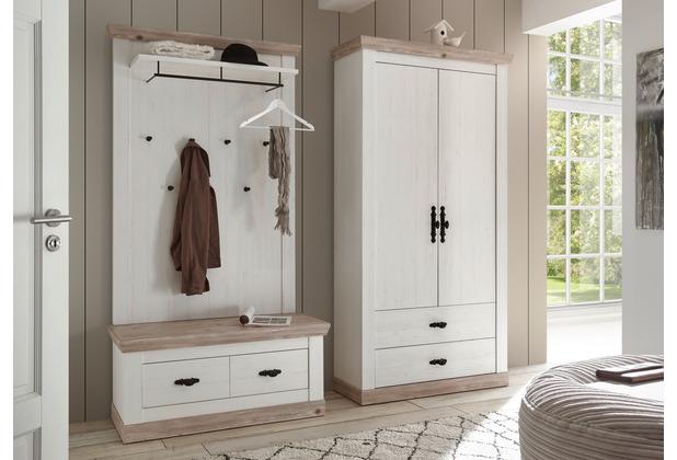 IMV Garderobe Florenz IV, weiß Garderobenkombination