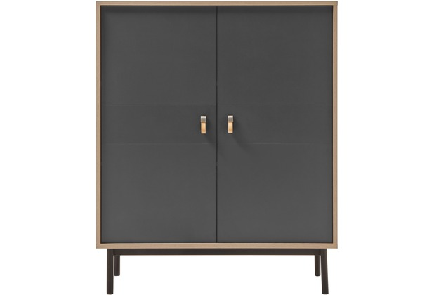 IMV Highboard Sven, grau Kommode