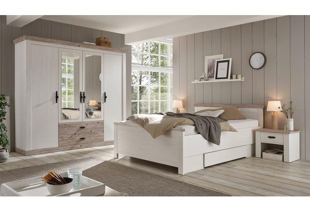 IMV Schlafzimmer Florenz II, Pinie Weiss Dekor
