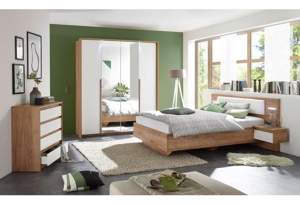 IMV Schlafzimmer Skye II 3 tlg., braunweiß