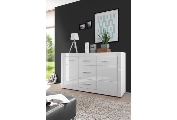 IMV Sideboard Bianco, weiß