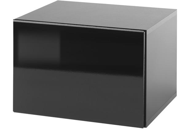 IMV Stauraumelement Cayman schwarz 31 cm