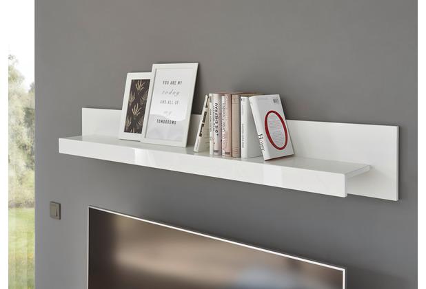 IMV Wandboard Meran weiß / weiß hochglanz 150 x 21 x 20