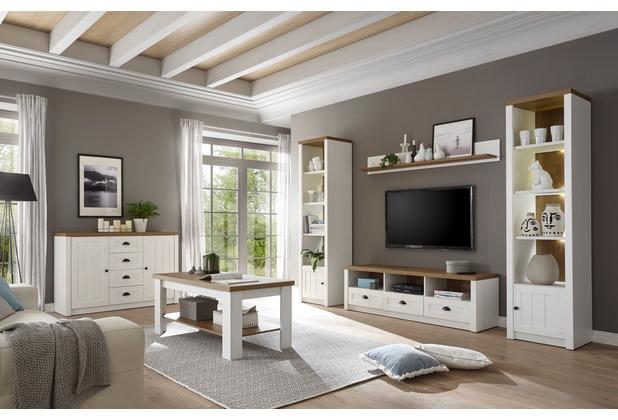 IMV Wohnkombination Provence, 5-teilig, 2 Regale