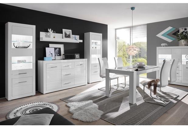 IMV Wohnwand Bianco, weiß 7WiX45