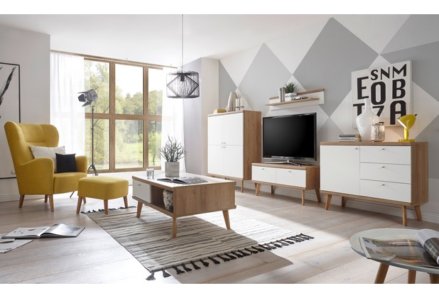 IMV Wohnzimmer Merle, braunweiß 8VWMYA