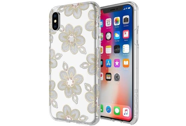 Incipio [Design Series] Classic Case, Apple iPhone X, beaded floral