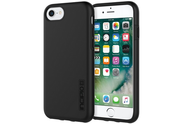 Incipio DualPro Case - Apple iPhone SE 2020 / iPhone 8/7/6S - schwarz/schwarz
