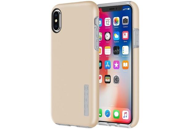 Incipio DualPro Case, Apple iPhone X, iridescent champagne