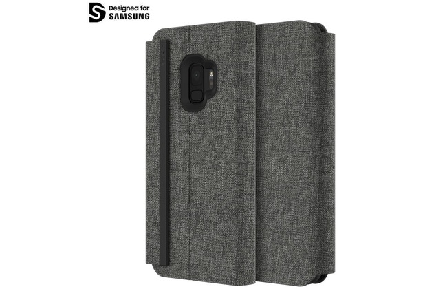 Incipio Esquire Series - Carnaby Folio Case Samsung Galaxy S9 grau