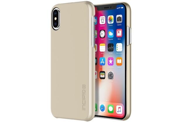 Incipio Feather Case, Apple iPhone X, iridescent champagne