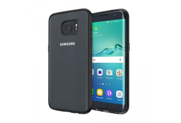 Incipio Octane Pure Case, Samsung Galaxy S7 edge, schwarz/transparent