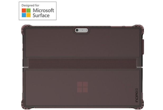 Incipio Octane Pure Case - Surface Pro (2017) & Pro 4 - rot (burgundy)