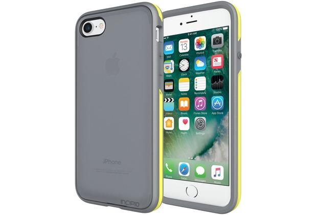 Incipio Performance Series Case [Slim] - Apple iPhone 7 / 8 - grau/gelb