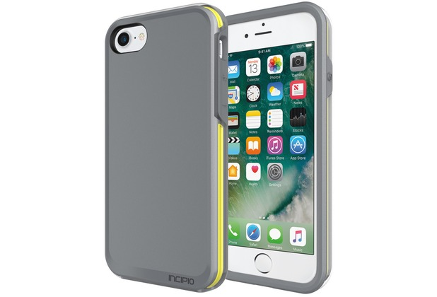 Incipio Performance Series Case [Ultra] - Apple iPhone 7 / 8 - grau/gelb